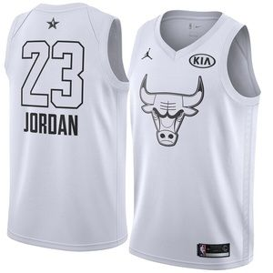 Chicago Bulls Michael Jordan 2018 All-Star Jersey